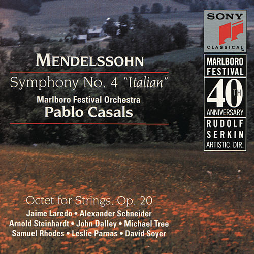 Mendelssohn: Symphony No. 4, Op. 90 'Italian' & Octet for Strings, Op. 20 by Various Artists