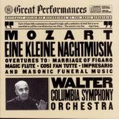 Mozart:  Eine Kleine Nachtmusik; Opera Overtures; Masonic Funeral Music de Bruno Walter; Columbia Symphony Orchestra