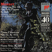 Mozart: Concerto No. 10 for Two Pianos and Orchestra, K. 365; Concerto for Piano and Orchestra, K. 414; and Trio for Piano, Violin and Cello, K. 502 by Various Artists