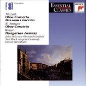 Mozart/Strauss/Weber: Oboe Concertos; Bassoon Concerto; Andante e Rondo by Various Artists