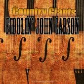 Country Giants by Fiddlin' John Carson