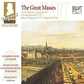Mozart: The Great Masses by Chamber Choir of Europe