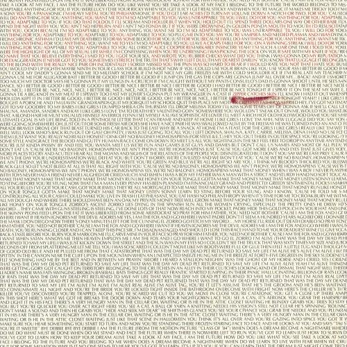 Zipper Catches Skin by Alice Cooper