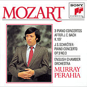 Mozart: Three Concertos for Piano and Orchestra, K. 107 (after 3 Sonatas by J. C. Bach) & Schröter:  Concerto for Piano and Orchestra in C Major, Op. 3, No. 3 by English Chamber Orchestra; Murray Perahia