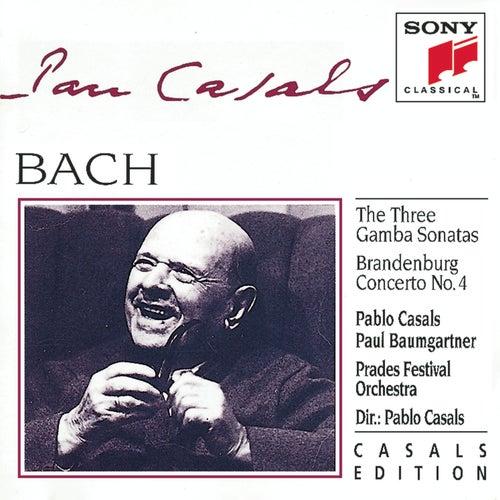 Bach: The Three Gamba Sonatas, Brandenburg Concerto No. 4 by Various Artists
