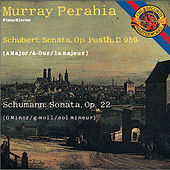 Schubert: Sonata in A Major; Schumann: Sonata in G Minor by Murray Perahia