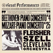 Beethoven:  Concerto No. 4 for Piano and Orchestra in G Major, Op. 58 and Mozart:  Concerto No. 25 for Piano and Orchestra in C Major, K. 503 by George Szell