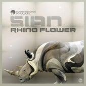 Rhino Flower von Sian