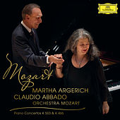 Mozart: Piano Concerto No.25 In C Major K.503;  Piano Concerto No.20 In D Minor K.466 (Live) by Martha Argerich