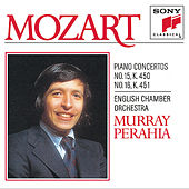 Mozart:  Concerto No. 15 & 16 for Piano and Orchestra by English Chamber Orchestra; Murray Perahia