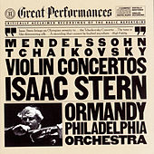 Tchaikovsky: Concerto In D Major for Violin and Orchestra, Op. 35 // Mendelssohn: Concerto In E Minor for Violin and Orchestra, Op. 64 de Eugene Ormandy; Isaac Stern