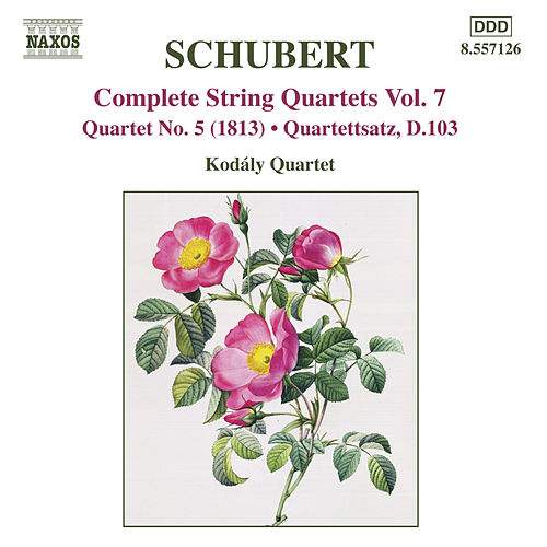 SCHUBERT: String Quartets (Complete), Vol. 7 by Kodaly Quartet
