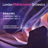 Brahms: Symphonies Nos. 3 & 4 by London Philharmonic Orchestra