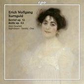 Korngold: String Sextet, Op. 10 & Suite, Op. 23 von Aron Quartet