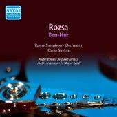 Rózsa: Ben-Hur de Rome Symphony Orchestra