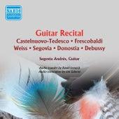 Andrés Segovia - Guitar Recital de Andres Segovia