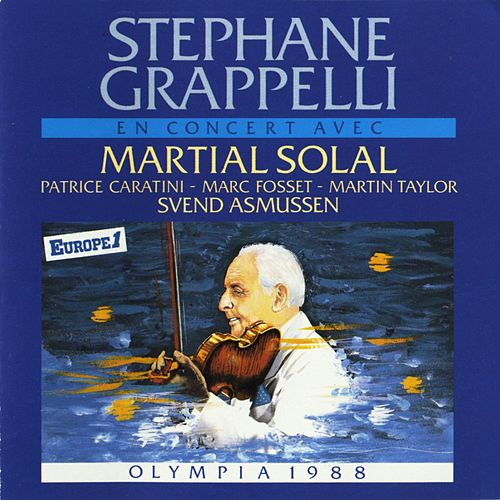 Olympia 88 by Stephane Grappelli