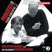 Prokofiev: Piano Concertos Nos. 1-5 by Jean-Efflam Bavouzet