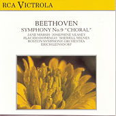 Beethoven: Symphony No. 9 de Erich Leinsdorf