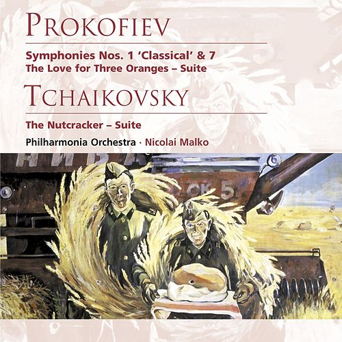 Prokofiev: Symphonies Nos. 1 & 7 etc by Philharmonia Orchestra