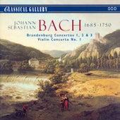 Bach: Brandenberg Concertos Nos. 1, 2 & 3, Violin Concerto No. 1 by Various Artists