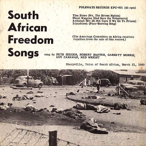 South African Freedom Songs by Pete Seeger