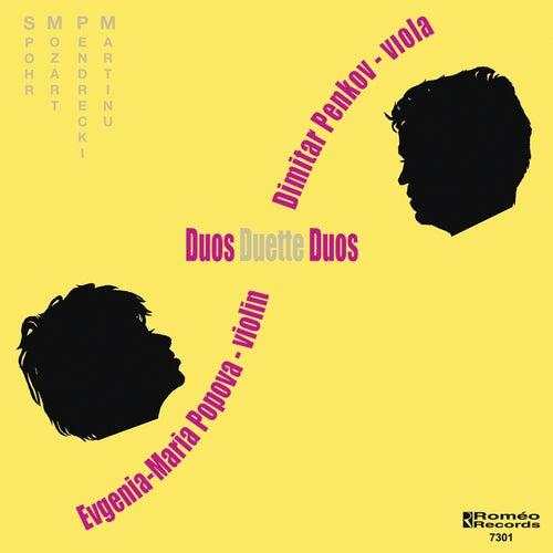 Duos Duette Duos by Viola Dimitar Penkov