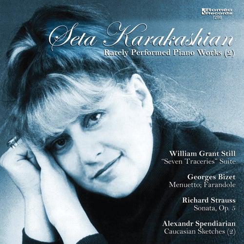 Rarely Performed Piano Works (2) by Seta Karakashian