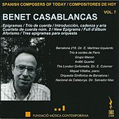 Benet Casablancas (1956) by Various Artists