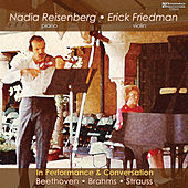 Nadia Reisenberg & Erick Friedman in Performance von Various Artists
