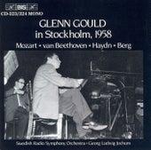 Glenn Gould in Stockholm, 1958 (Mozart - van Beethoven - Haydn - berg) by Glenn Gould