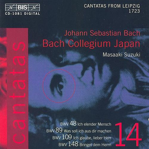 J.S. BACH - Cantatas vol. 14 (BWV 148, BWV 48, BWV 89, BWV 109) by Various Artists