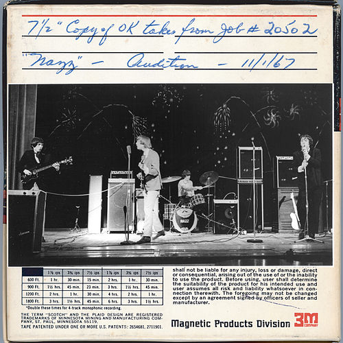 1967 Audition Tape by The Nazz