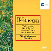 Beethoven: Violin Sonata Nos 5 & 9 by Yehudi Menuhin