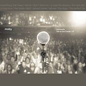 Innocents, Live at the Fonda, LA von Moby