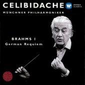 Brahms: Ein Deutsches Requiem/Symphony No.1 by Sergiu Celibidache