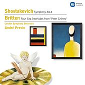 Shostakovich: Symphony No.4, Britten: Four Sea Interludes by Various Artists