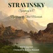 Stravinsky: Symphony in C & Symphony in 3 Movements de L'Orchestre de la Suisse Romande