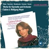 Werke für Klarinette und Orchester (Cologne Collection) von Sabine Meyer