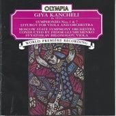 Giya Kancheli: Symphonies 1 & 7; Liturgy de viola Svyatoslav Belonogov