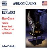 Rzewski: Piano Music by Robert Satterlee