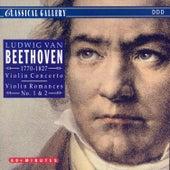 Beethoven: Violin Concerto, Violin Romance Nos. 1 & 2 by Philharmonia Slavonica