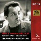 I. Stravinsky: Perséphone (1960 Live Recording with Fritz Wunderlich) by Fritz Wunderlich, Doris Schade, Sinfonie-Orchester des Hessischen Rundfunks, Chor des Süddeutschen Rundfunks, Schwanheimer Kinderchor, Chor des Hessischen Rundfunks