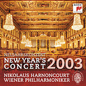 Neujahrskonzert / New Year's Concert 2003 by Wiener Philharmoniker