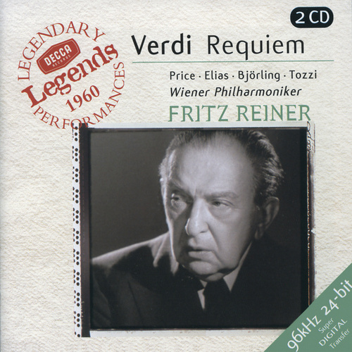 Verdi: Requiem/Quattro Pezzi Sacri by Various Artists