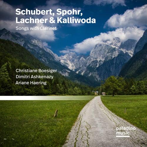 Schubert, Spohr, Lachner, & Kalliwoda: Lieder by Christiane Boesiger