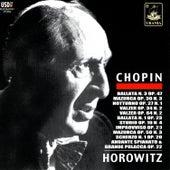 Horowitz Plays Chopin by Vladimir Horowitz