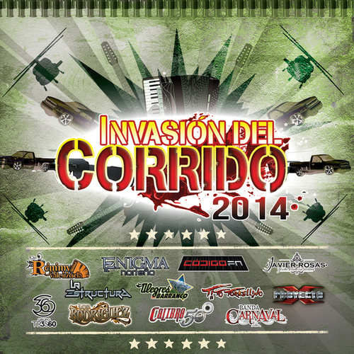 Invasión Del Corrido 2014 by Various Artists