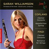 Copland: Clarinet Concerto & Appalachian Spring - Finzi: Clarinet Concerto & Romance for Strings by Various Artists