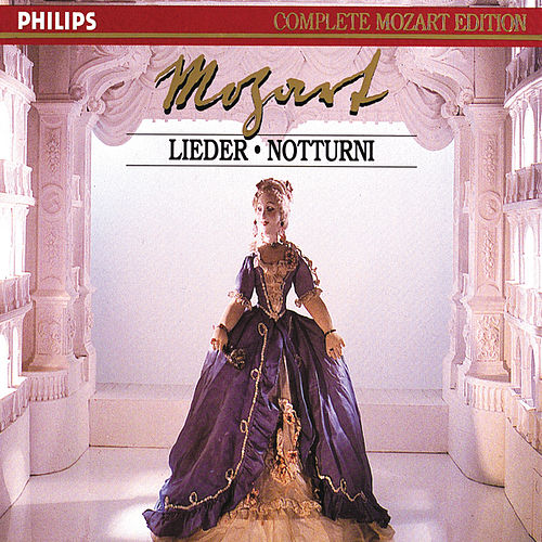 Mozart: Lieder & Notturni (2 CDs, Vol.24 of 45) by Elly Ameling